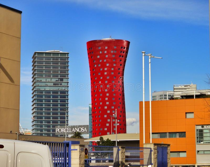 Hotel Porta Fira in Barcelona, Spain stock photo