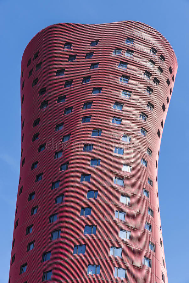 Hotel Porta Fira, Barcelona stock image