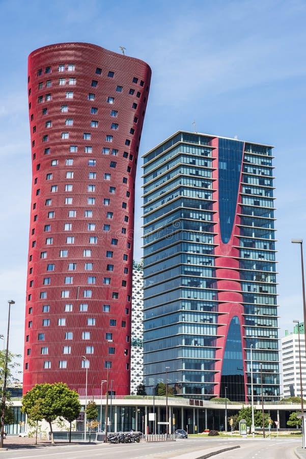 Hotel Porta Fira, Barcelona stock photos