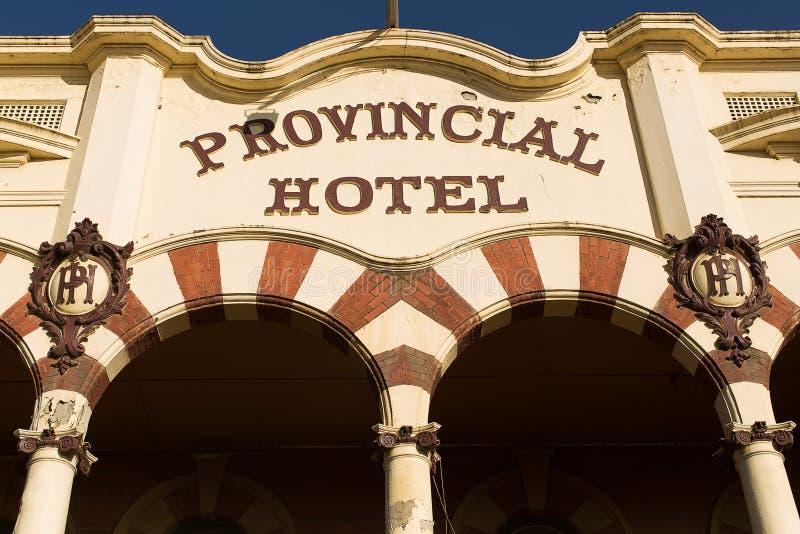 Hotel provinciale fotografie stock