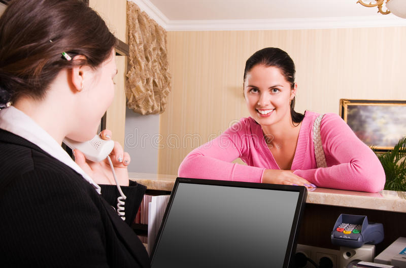 Download Hotel reception stock photo. Image of formal, corporate - 10370840