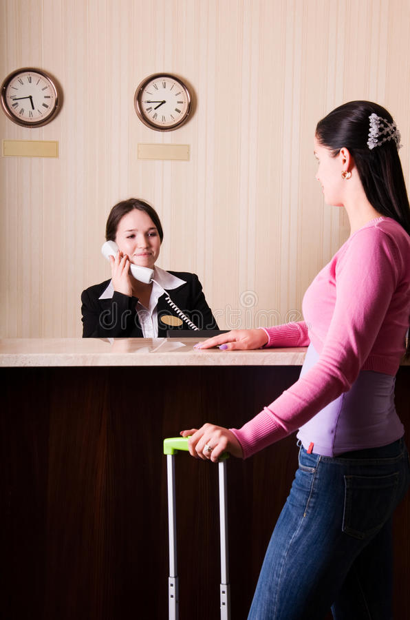Download Hotel Reception Royalty Free Stock Photo - Image: 11284815