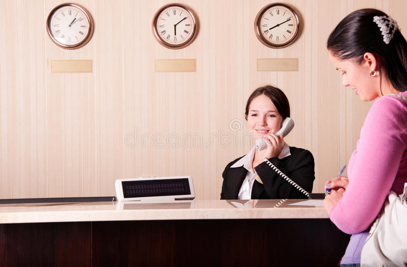 Download Hotel Reception Royalty Free Stock Photos - Image: 15837708