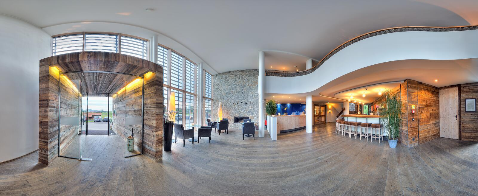 Download Hotel reception stock photo. Image of space, glass, decor - 22410078