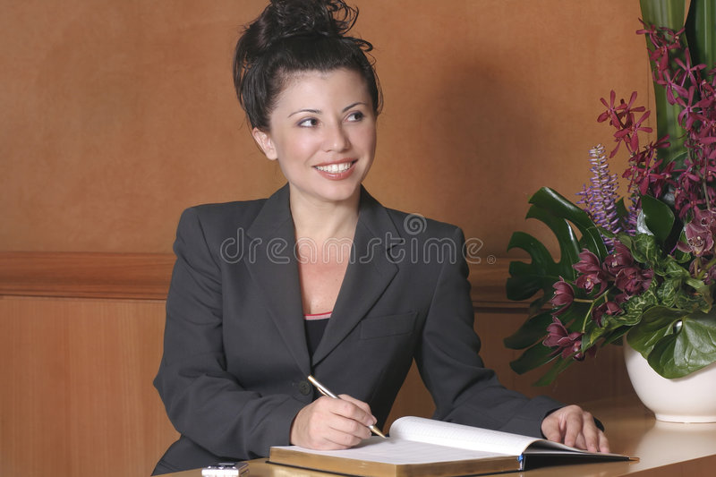 Download Hotel Reception Royalty Free Stock Photography - Image: 33137
