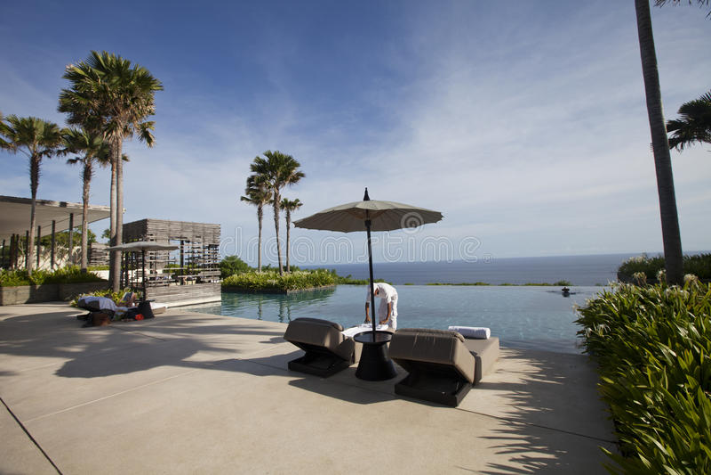 Hotel resort stock photography
