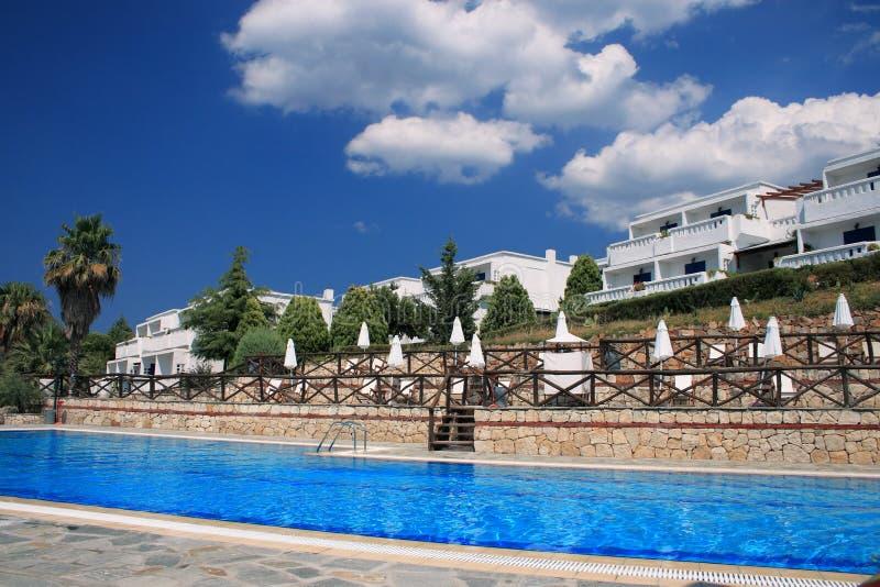 Hotel resort stock photos