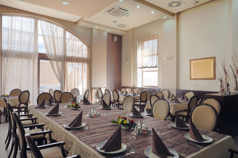 Download Hotel restaurant interior stock image. Image of contemporary - 25456701