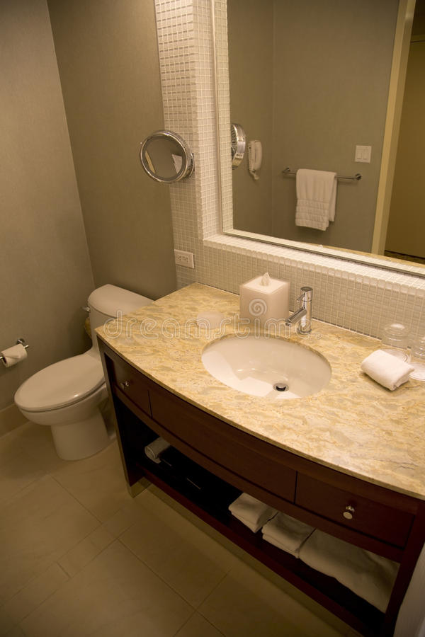 Hotel Restroom Royalty Free Stock Photo