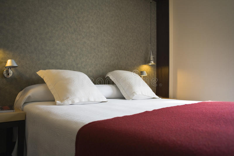 Hotel_room immagini stock libere da diritti