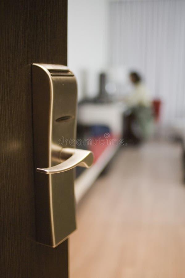 Hotel_room imagens de stock