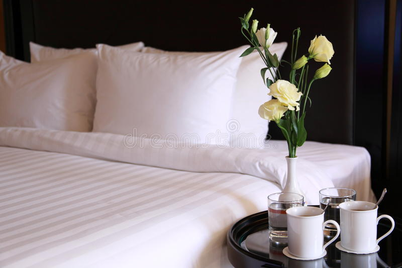 Hotel room royalty free stock image