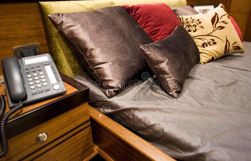 Download Hotel room stock image. Image of duvet, luxury, communicate - 16855401