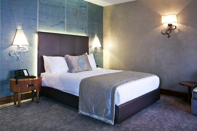 Download Hotel Room stock photo. Image of cover, beautiful, dark - 25969958