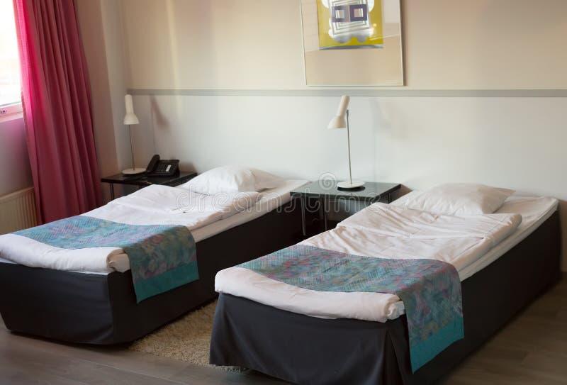 Hotel room stock image