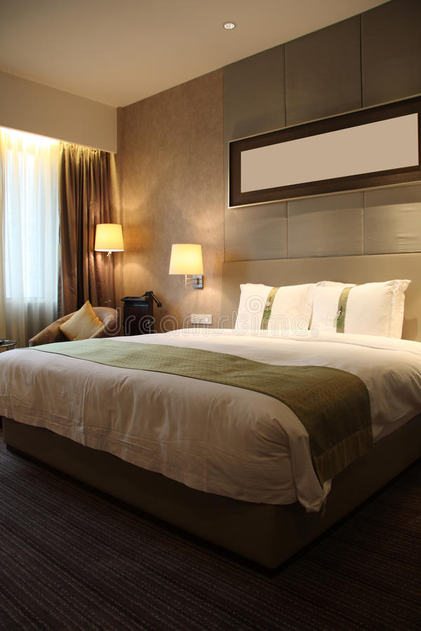 Download Hotel room or bedroom stock image. Image of design, fashion - 13999053