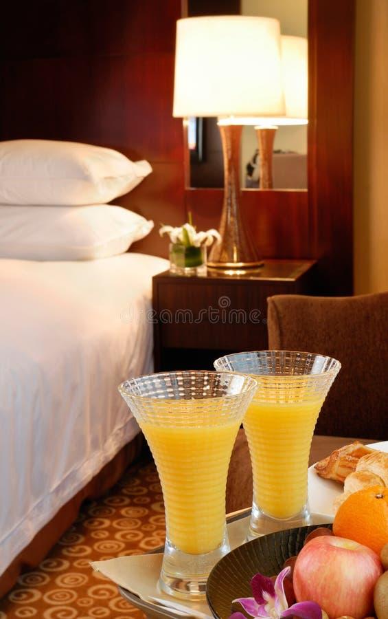 Hotel room interior royalty free stock photos