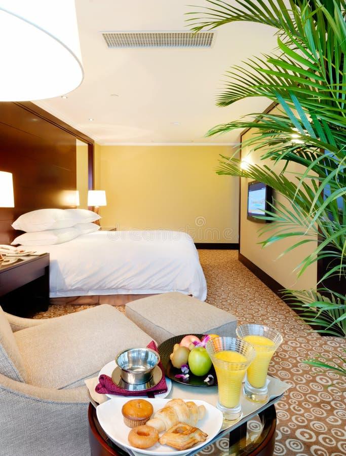 Hotel room interior stock photography
