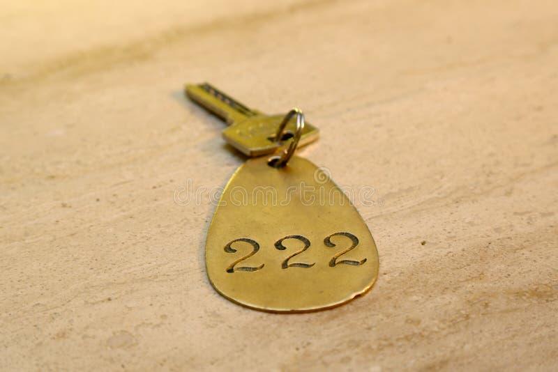Hotel room key royalty free stock photos