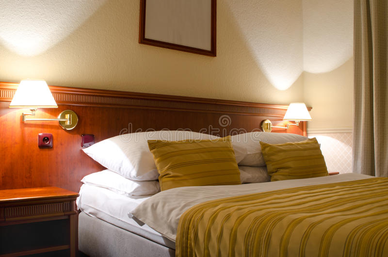 Download Hotel room for two stock image. Image of cushions, furnishing - 20005263
