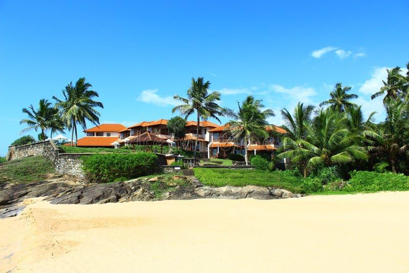 Hotel Saman Villas en la roca fotografía de archivo libre de regalías