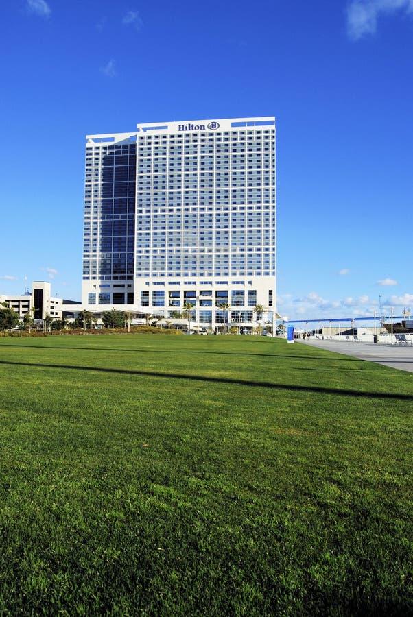 Hotel San Diego di Hilton Bayfront immagine stock libera da diritti