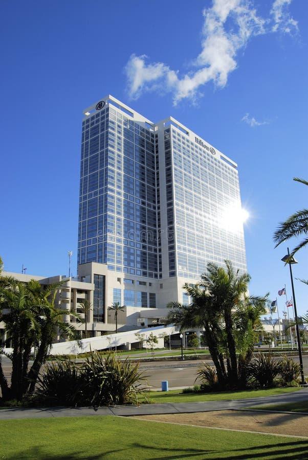 Hotel San Diego di Hilton Bayfront fotografia stock