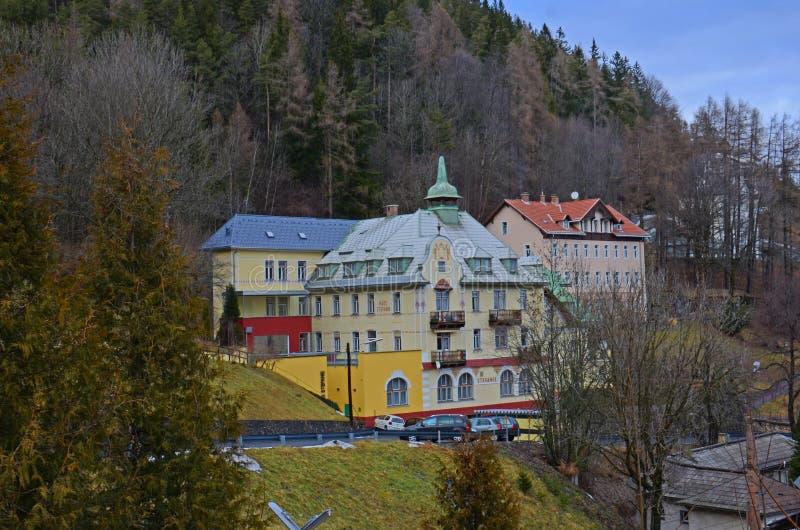 Hotel in Semmering immagine stock