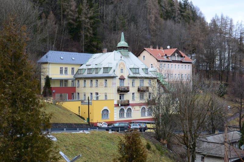 Hotel in Semmering fotografia stock