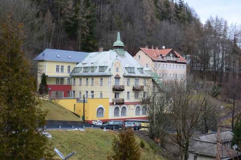 Hotel in Semmering fotografie stock