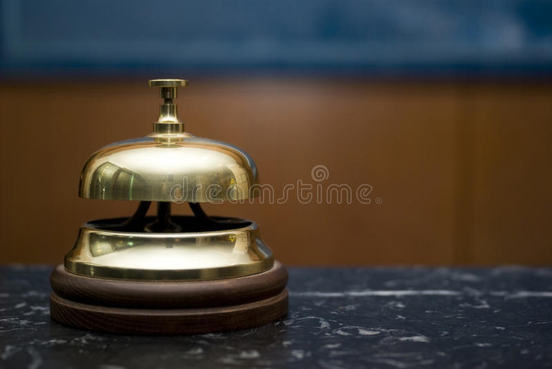 Download Hotel service bell stock photo. Image of assistance, glimmer - 19757614