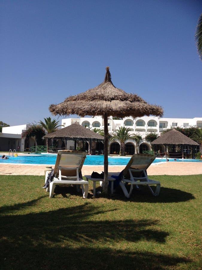 Hotel Shalimar Tunisia stockfotos