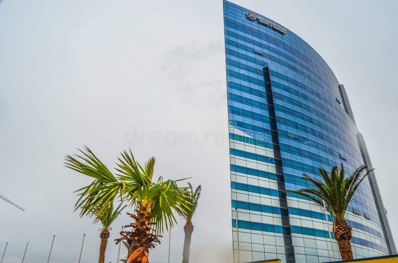 Hotel sheraton Oran lizenzfreie stockfotografie