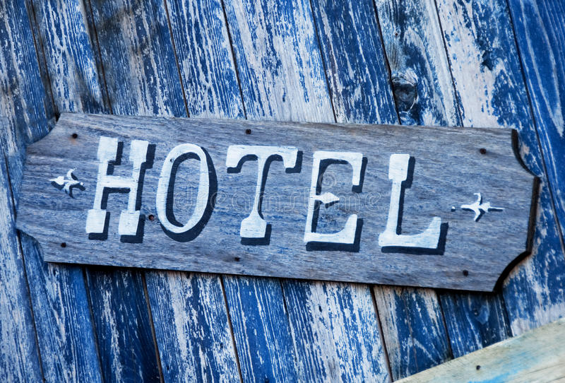 Download Hotel sign stock image. Image of ornamental, hotel, wood - 16174937