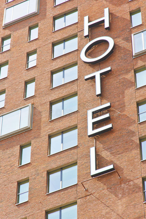 Download Hotel Sign stock photo. Image of travel, building, wide - 25568472