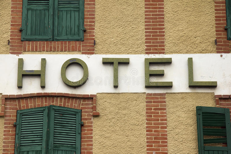 Download Hotel sign stock image. Image of vacation, window, shutter - 26925919
