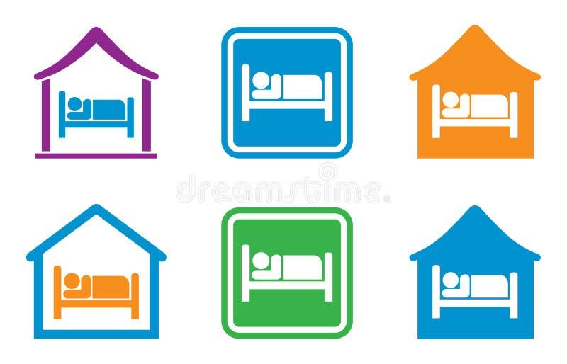 Hotel sign vector illustration