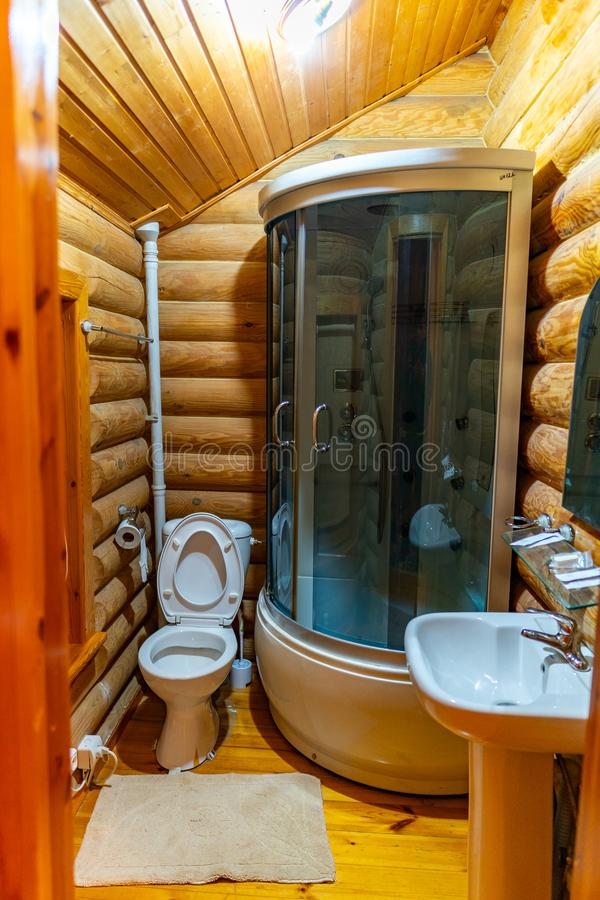 Hotel Simple Bathroom 44 royalty free stock photo