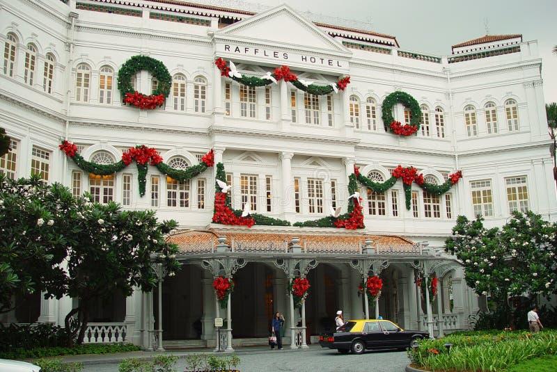 Hotel Singapur de las rifas fotos de archivo libres de regalías