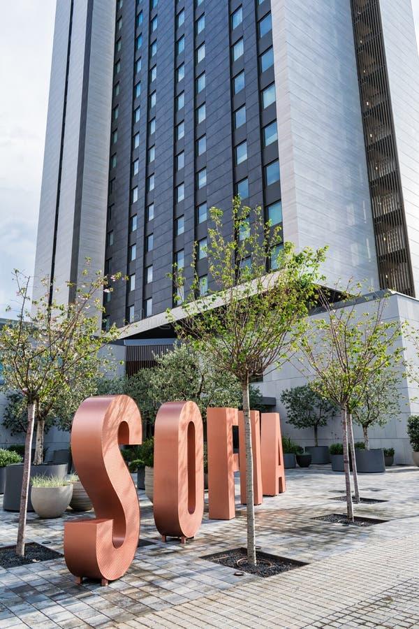 Hotel Sofia Barcelona royalty free stock photo
