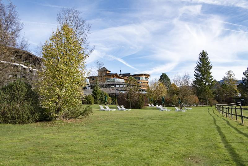 Hotel Sonnenalp, Germany stock image
