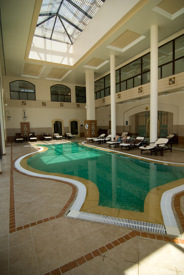 Hotel spa royalty-vrije stock afbeeldingen