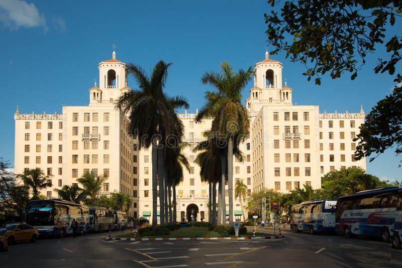Hotel-Staatsangehöriger in Havana in Kuba stockfoto