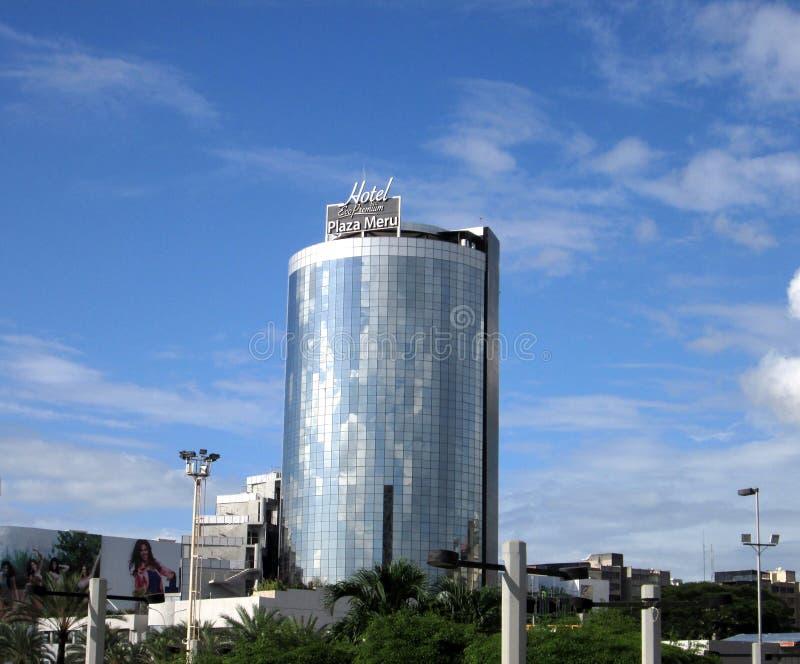 Hotel superior Meru da plaza de Eco em Puerto Ordaz imagem de stock