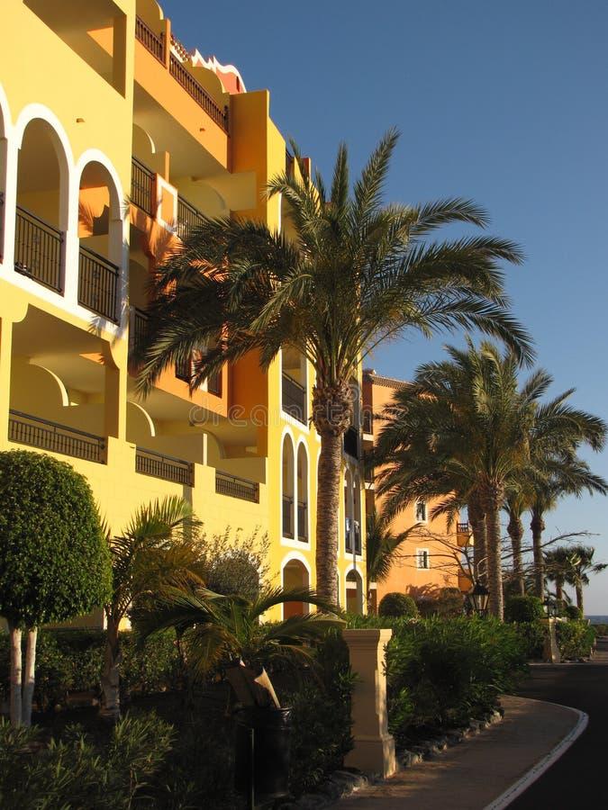 Hotel in Tenerife fotografie stock