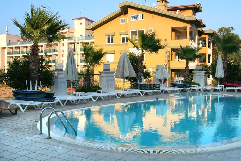 Hotel in Turkije royalty-vrije stock fotografie