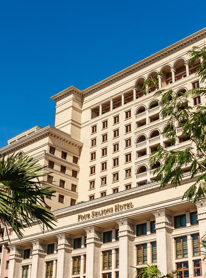 Hotel un hotel Mosca di quattro stagioni fotografie stock