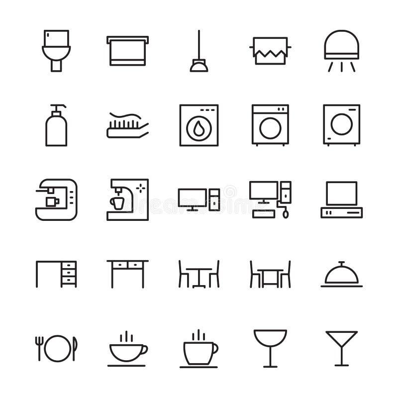 Hotel Vector Icons 2 vector illustration
