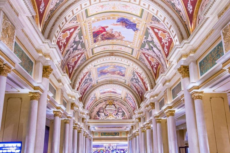 Hotel veneciano de Las Vegas foto de archivo libre de regalías