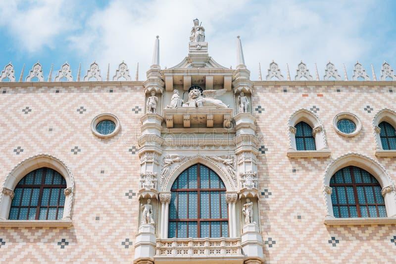 Hotel veneciano de Macao en Macao, China imagenes de archivo